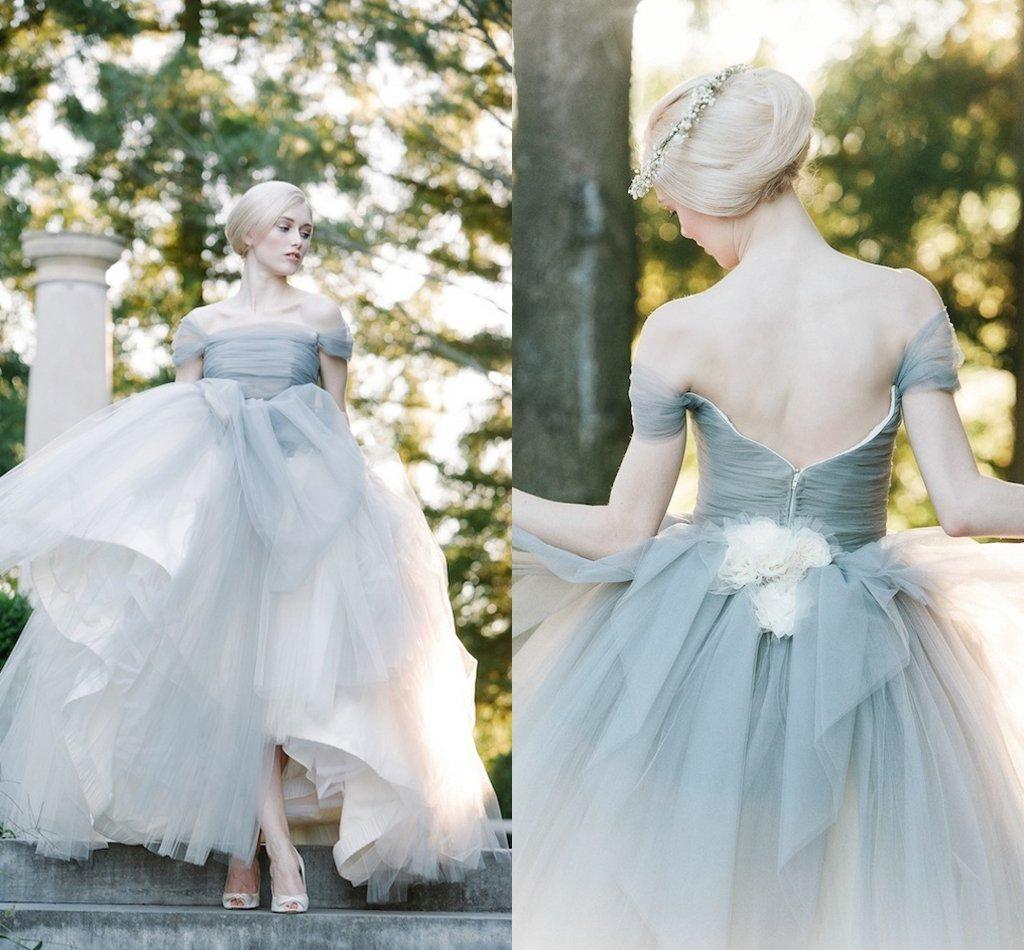 11 colores para tu vestido de novia como alternativa al blanco - El ...