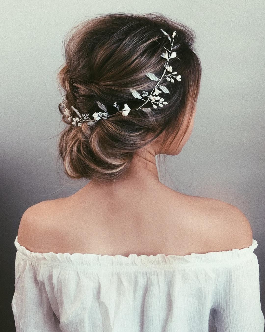 Elige El Peinado De Novia Indicado Para Que Combine Con El