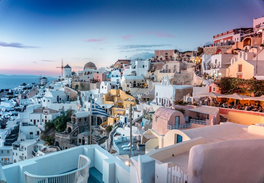 los destinos de luna de miel más visitados de Europa