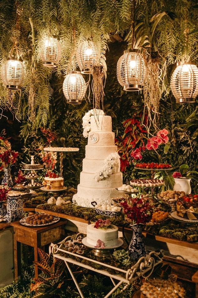 cómo tener un pastel de bodas único