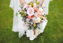 qué hacer con las flores después de la boda